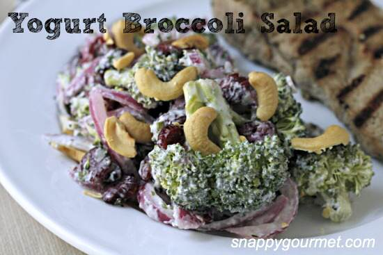 Broccoli Yogurt Salad