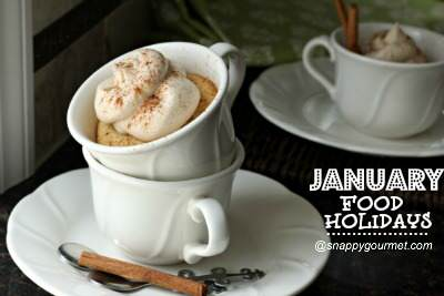 amber maharani teacup cakes - january food holidays