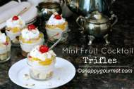 Mini Fruit Cocktail Trifles