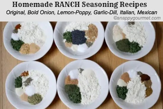 Ranch Seasoning Recipe   snappygourmet.com