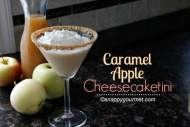 Caramel Apple Cheesecaketini