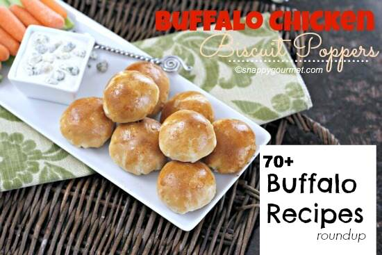 Buffalo Recipes Roundup | snappygourmet.com
