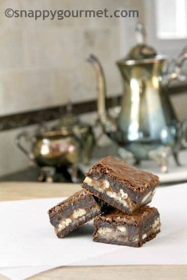 Best Turtle Brownies