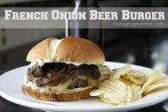 French Onion Beer Burgers