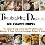 Best Thanksgiving Dessert Recipes – Cakes, Pies, Cookies, & more!