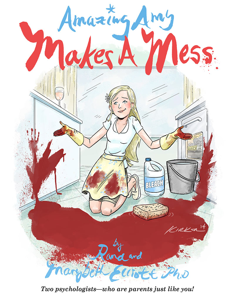 Amazing Amy Makes a Mess