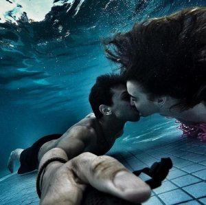 Beso mojado: Parejas de enamorados