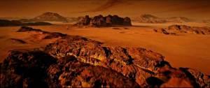 "Fotograma de la película ""The Martian"" (2015)"