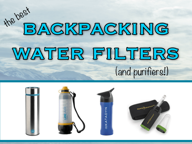 Best Backpacking Water Filters and Purifiers