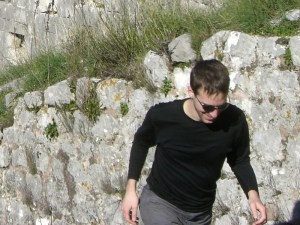 Montenegro climb.