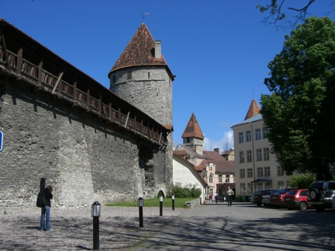City walls, Tallinn, Estonia