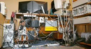 Computer cable mess