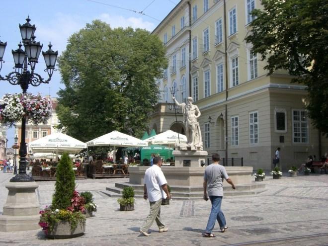 Ploshcha Rinok, Market Square, Lviv, Ukraine