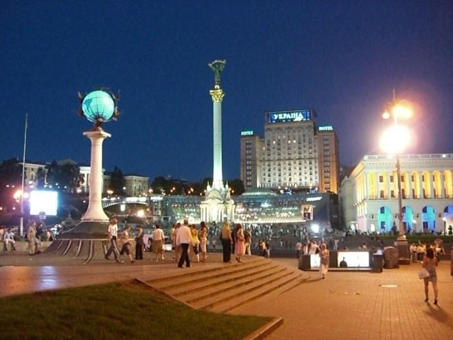 Maidan Nezalezhnosti (Independence Square), Kiev, Ukraine