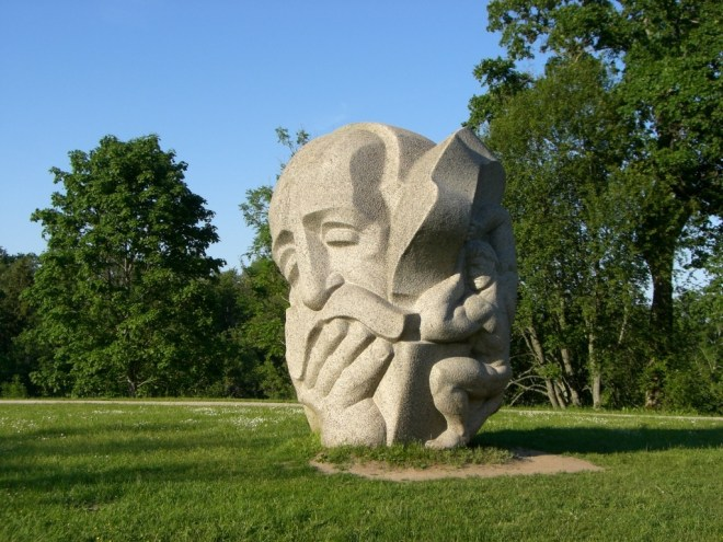 Turaida statue, Latvia