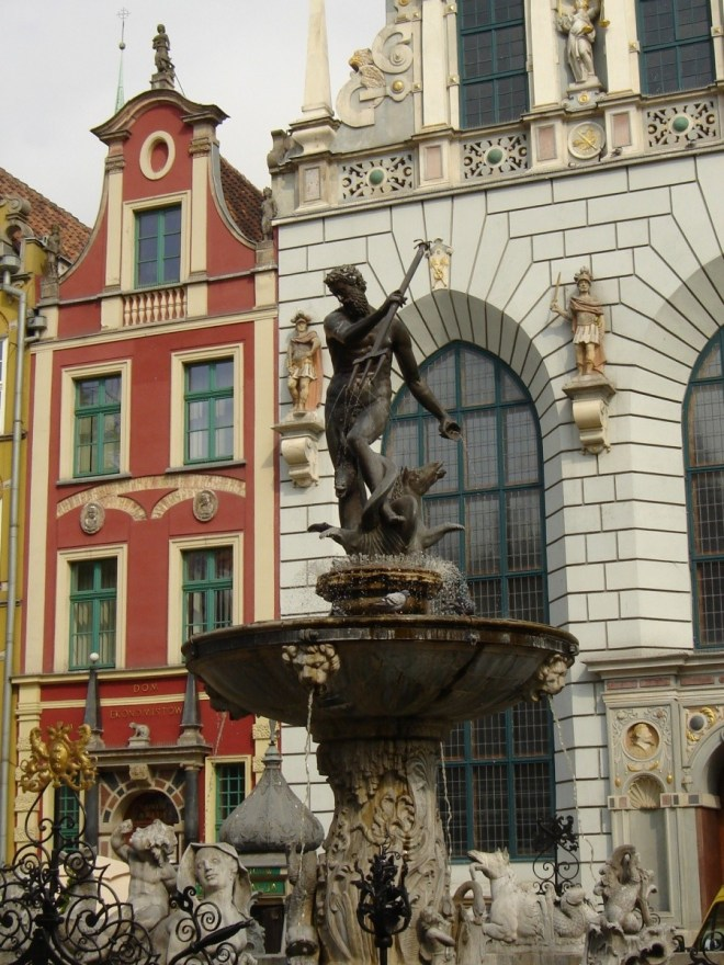 Gdansk old town, Gdansk, Poland