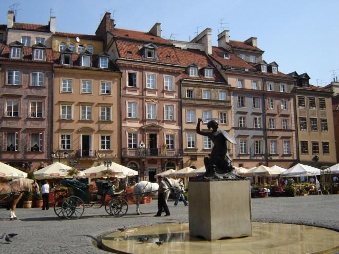 Warsaw old town, Warsaw, Poland
