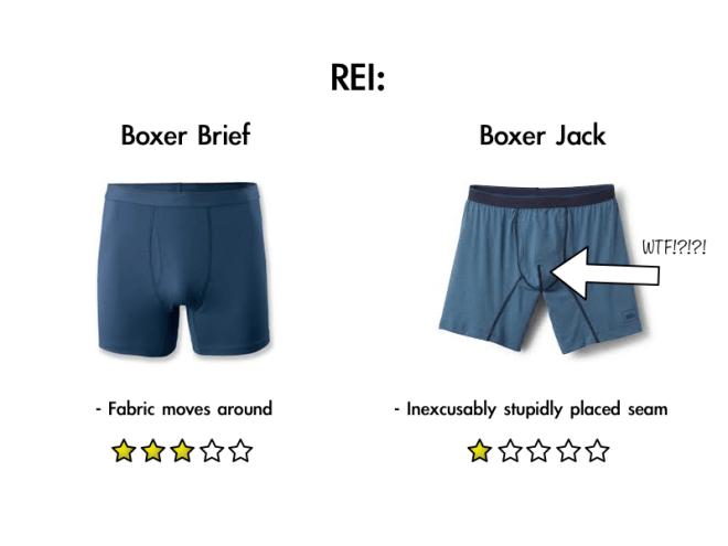 REI Boxer Brief reviews