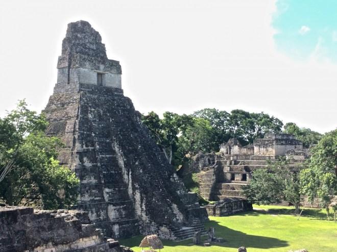 Tikal's main plaza