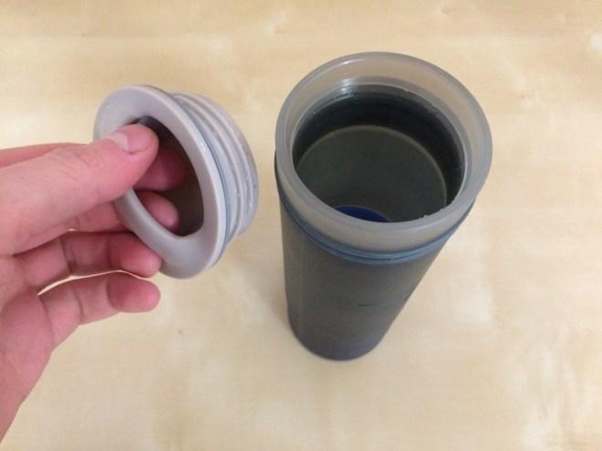 Grayl Ultralight drinking