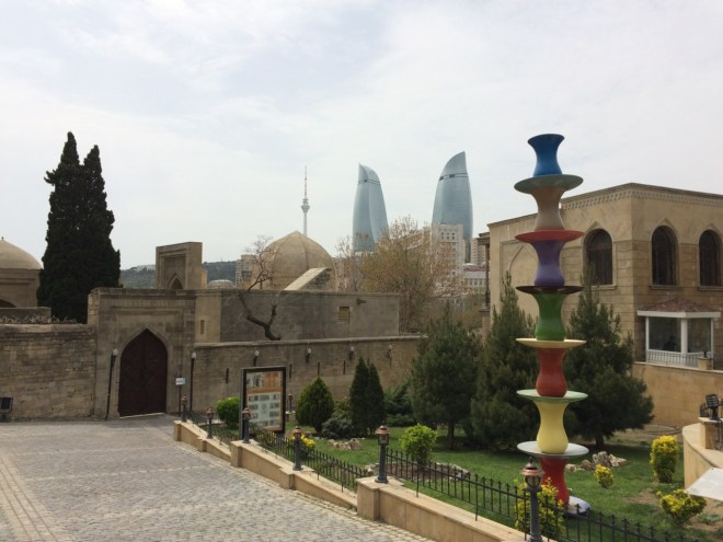 Flame Towers and Palace of the Shirvanshahs