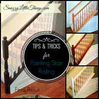 DIY: Painting Stair Railings & Fixing Color Mistakes