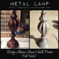 DIY: Painting a Metal Lamp