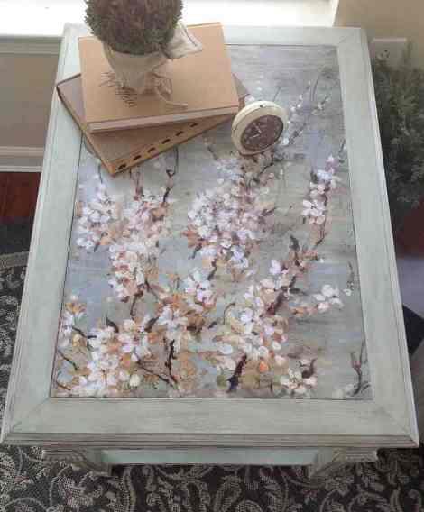 Cherry Blossom Decoupage