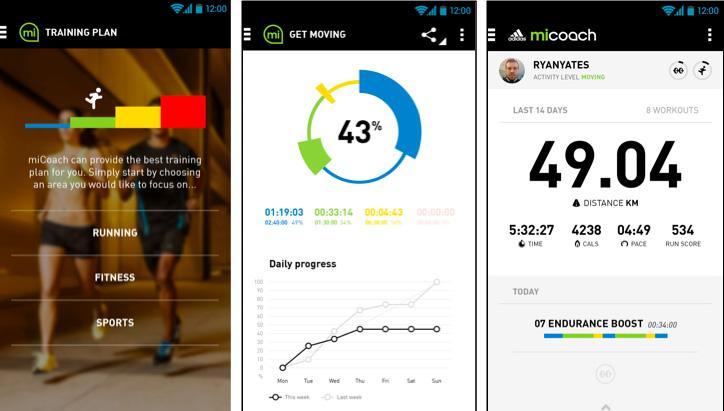 """Photo05 - adidasから心拍トレーニングに特化したリストバンド型ハートレートモニター""""miCoach FIT SMART""""が発売"""