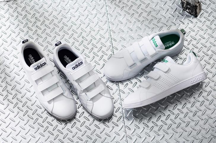 Photo01 - adidas neoの定番VALCLEANより、ストラップタイプが新登場