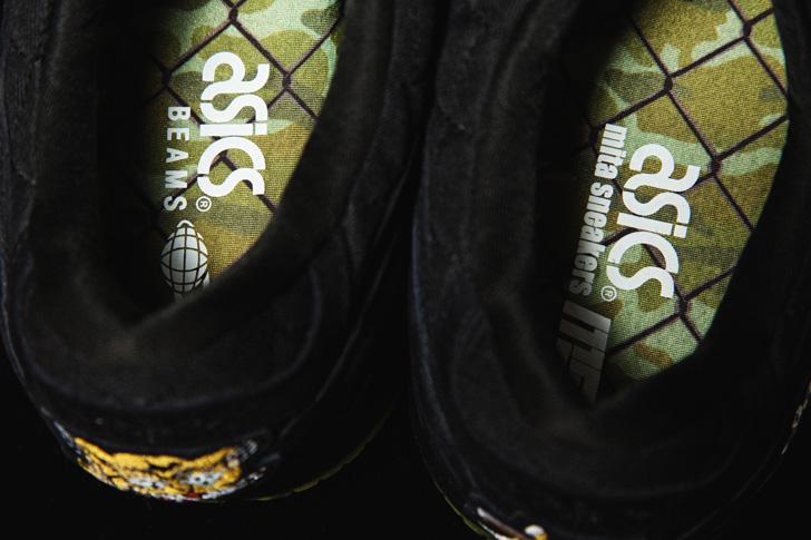 "Photo12 - アシックスタイガーは、スーベニアジャケットから着想を得たBEAMSとmita sneakersによるコラボモデルGEL-LYTE III ""Souvenir Jacket""を発売"