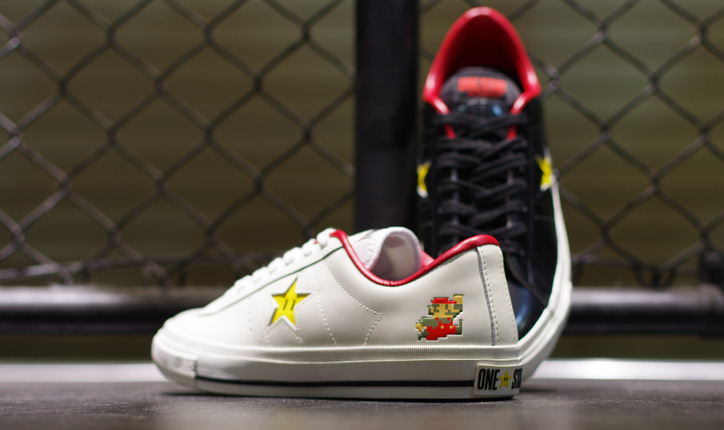 Photo01 - CONVERSE ONE STAR SUPER MARIO BROS. OX