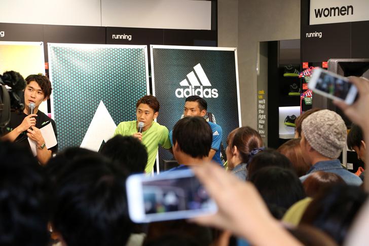 Photo06 - アディダスは、最新フットボールスパイク「X/ACE」の発売を記念して香川真司選手、槙野智章選手を招いたイベントを開催