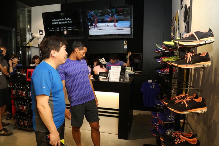 Photo14 - アディダスは、最新フットボールスパイク「X/ACE」の発売を記念して香川真司選手、槙野智章選手を招いたイベントを開催
