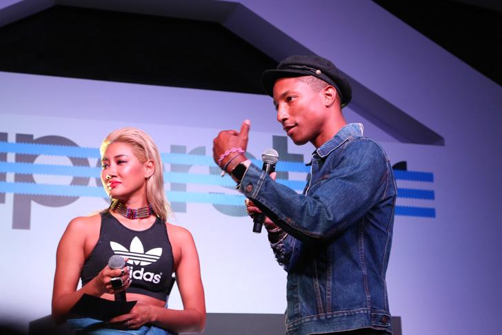 Photo01 - アディダスは、Superstarをテーマに一夜限りのアソビ場を創り出すCELEBRATION PARTY TOKYO by Pharrell Williams & YOONを開催