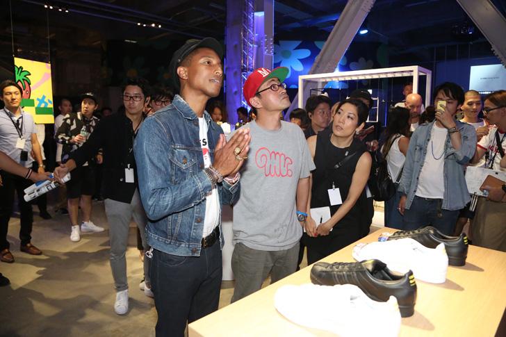 Photo28 - アディダスは、Superstarをテーマに一夜限りのアソビ場を創り出すCELEBRATION PARTY TOKYO by Pharrell Williams & YOONを開催