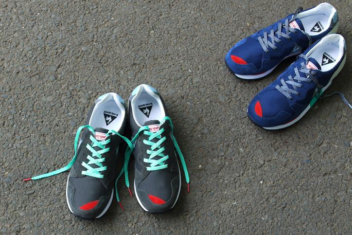 Photo03 - mita sneakers 国井栄之氏がカラーディレクションを手掛けた le coq sportif EUREKA が発売