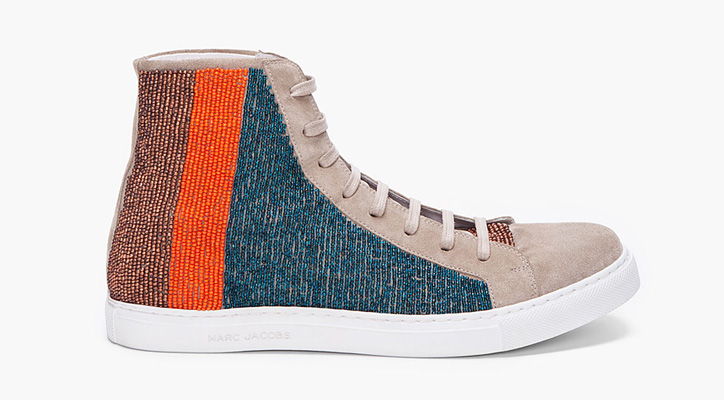 Photo01 - Marc Jacobs 2012 Spring/Summer Beige Beaded High Tops