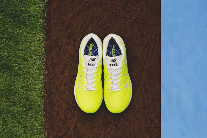 "Photo03 - テニスボールから着想を得たnew balance MRT580 ""The Battle of Surfaces"" ""mita sneakers""がゲリラリリース"