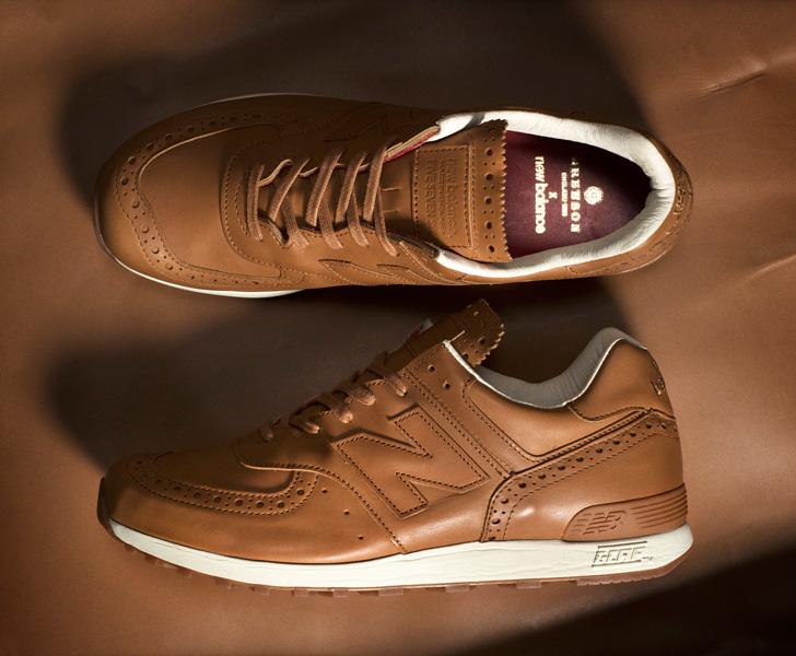 Photo02 - ニューバランスは、老舗英国革靴の名門Grensonとのコラボレーションモデルを発売