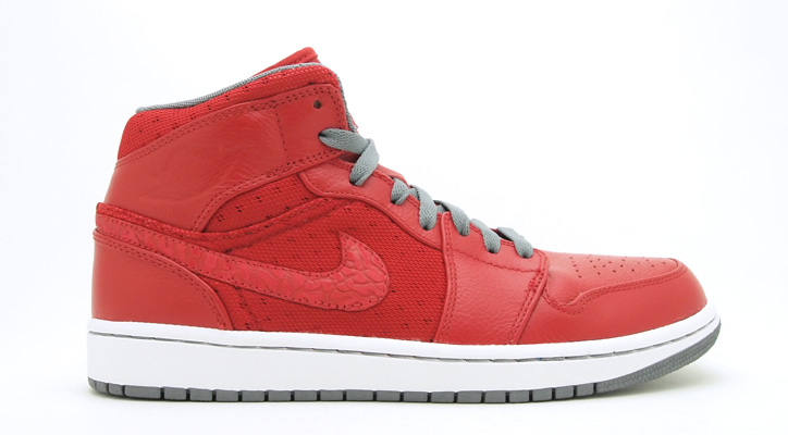 Photo01 - AIR JORDAN 1 PHAT - VARSITY RED/COOL GREY-WHITE