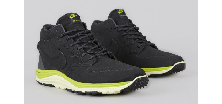 Photo02 - NIKE SB LUNAR BRAATA MID OMS ANTHRACITE/BLACK-ATOMIC GREEN