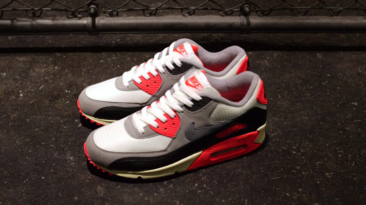Photo02 - NIKE AIR MAX 90 OG 「LIMITED EDITION for SELECT」 SAIL/GREY/INFRARED