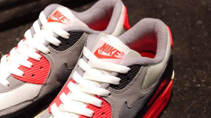 Photo04 - NIKE AIR MAX 90 OG 「LIMITED EDITION for SELECT」 SAIL/GREY/INFRARED