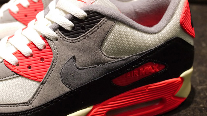 Photo05 - NIKE AIR MAX 90 OG 「LIMITED EDITION for SELECT」 SAIL/GREY/INFRARED