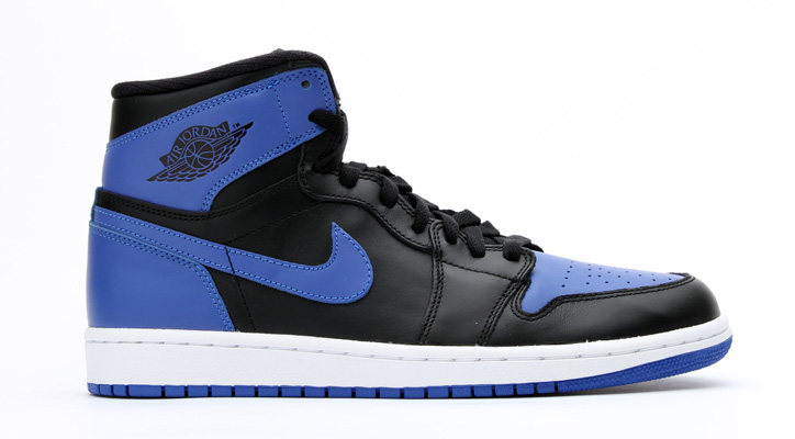 Photo01 - NIKE AIR JORDAN 1 RETRO HIGH OG BLACK/VARSITY ROYAL/BLACK