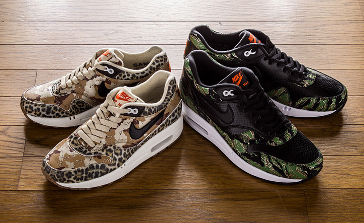"""Photo02 - NIKE AIR MAX 1 """"Camouflage Collection"""""""