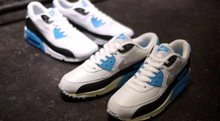 NIKE AIR MAX 90 OG 「LIMITED EDITION for SELECT」WHT/BLK/SAX