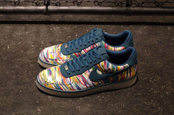Photo02 - LIBERTY x NIKE AIR FORCE I DOWNTOWN LIMITED EDITION for NONFUTURE