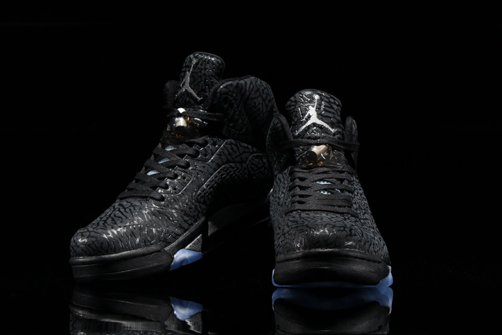 Photo02 - NIKE AIR JORDAN 3 LAB5 BLACK/BLACK-METALLIC SILVER が発売